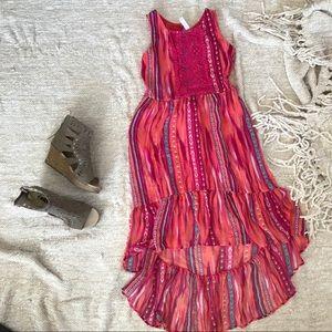 Girls Exhilaration BOHO Dress size M 8-10